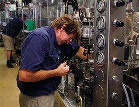 Mark Barnsdale - Bottling Manager
