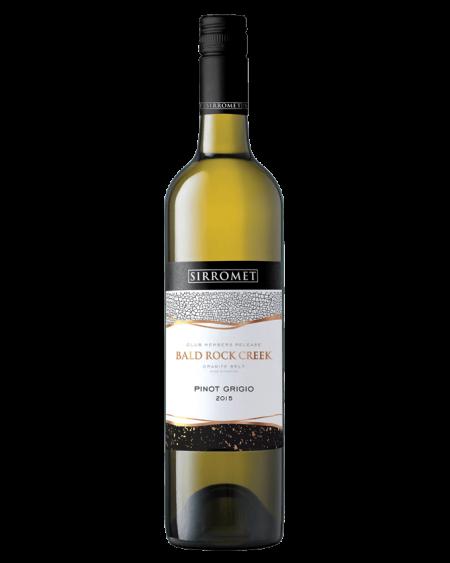 2015 Bald Rock Creek Pinot Grigio